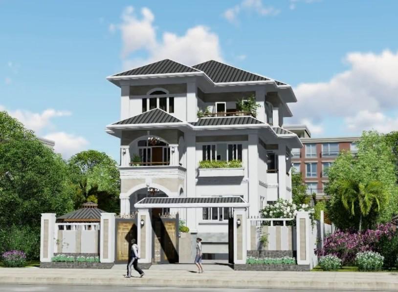 kiến trúc xây dựng biệt thự