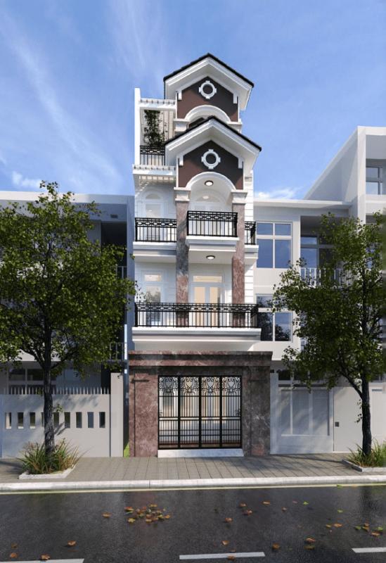 kiến trúc xây dựng nhà phố